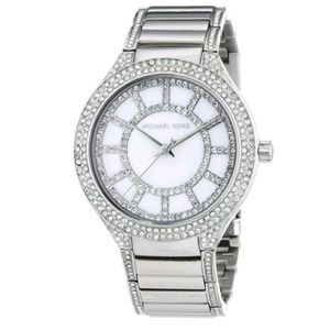 Michael Kors Quartz of Pearl Dail Stainless Watch